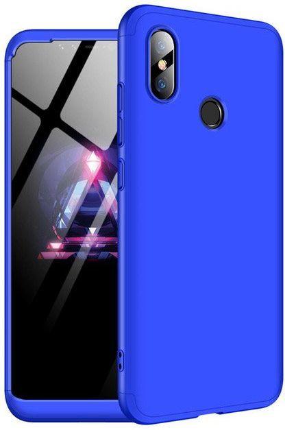 Hurtel 360 Protection etui na całą obudowę przód + tył Xiaomi Mi 8 niebieski 1
