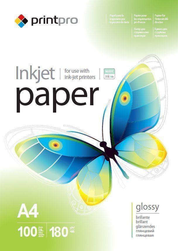 PrintPro Papier fotograficzny do drukarki A4 (PGE180100A4) 1