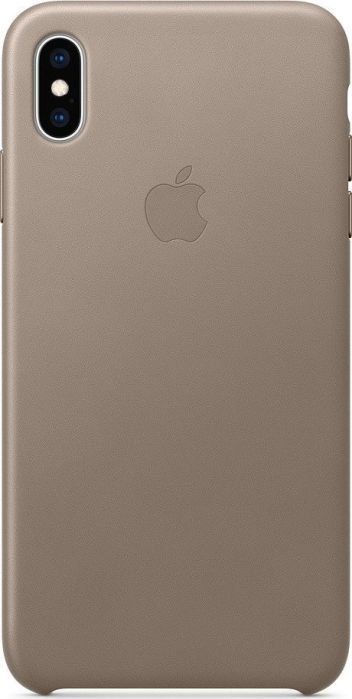 Apple Etui skórzane iPhone XS Max - jasnobeżowe-MRWR2ZM/A 1