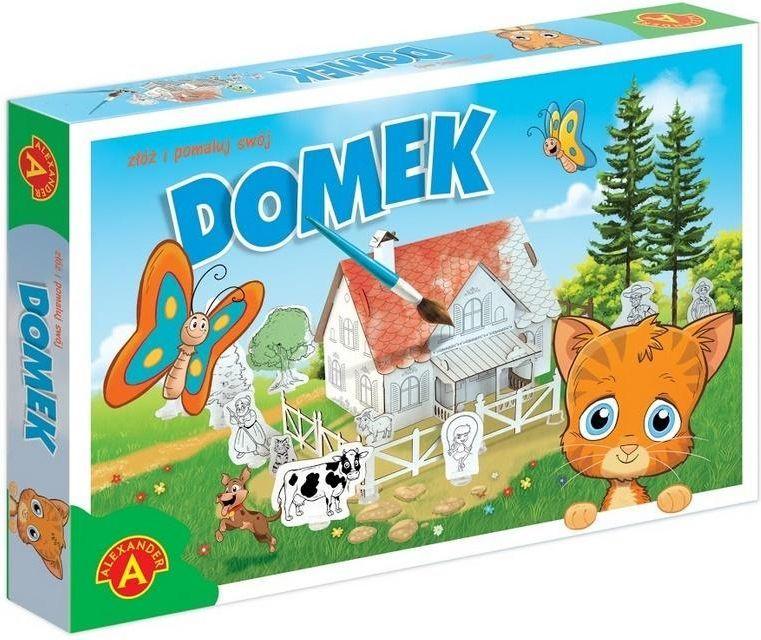Alexander Domek do malowania z kotkiem 1