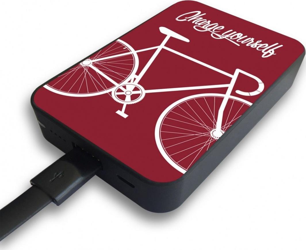 Powerbank Smartools MC10 CARD BIKE-RED 1