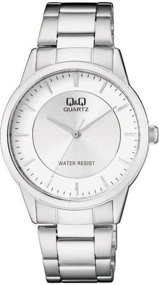 Zegarek Q&Q Męski Klasyczny QA44-201 srebrny 1
