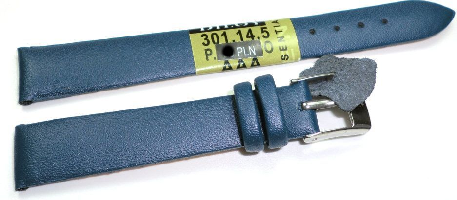 Diloy Skórzany pasek do zegarka 14 mm (301.14.5) 1