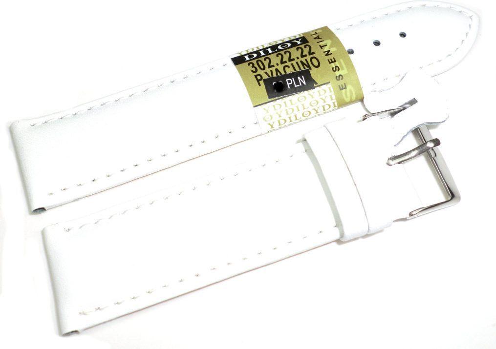 Diloy Skórzany pasek do zegarka 22 mm (302.22.22) 1