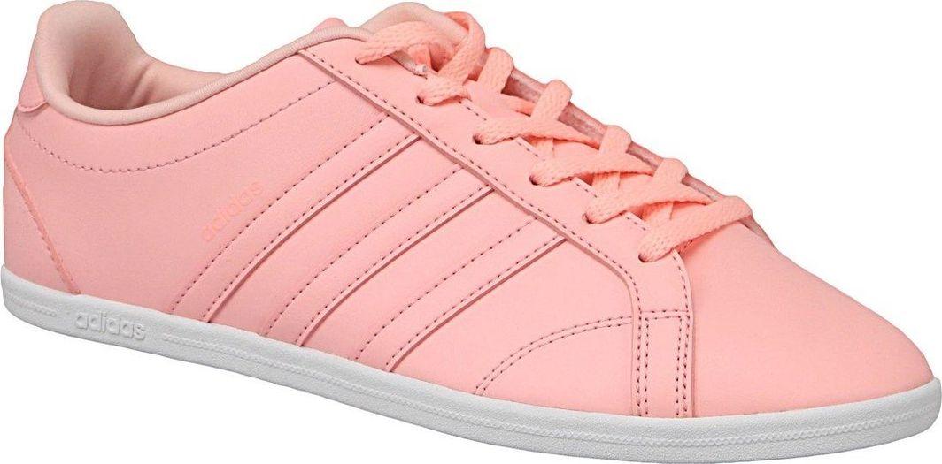 eleganckie buty styl mody świetne ceny Adidas Buty damskie Vs Coneo Qt różowe r. 36 2/3 ID produktu: 5019466