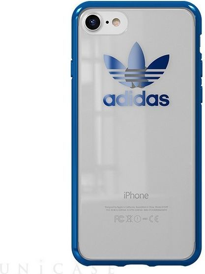 Adidas Adidas OR Clear Case iPhone 78 niebiesk iblue metalic CH8785 ID produktu: 5021026
