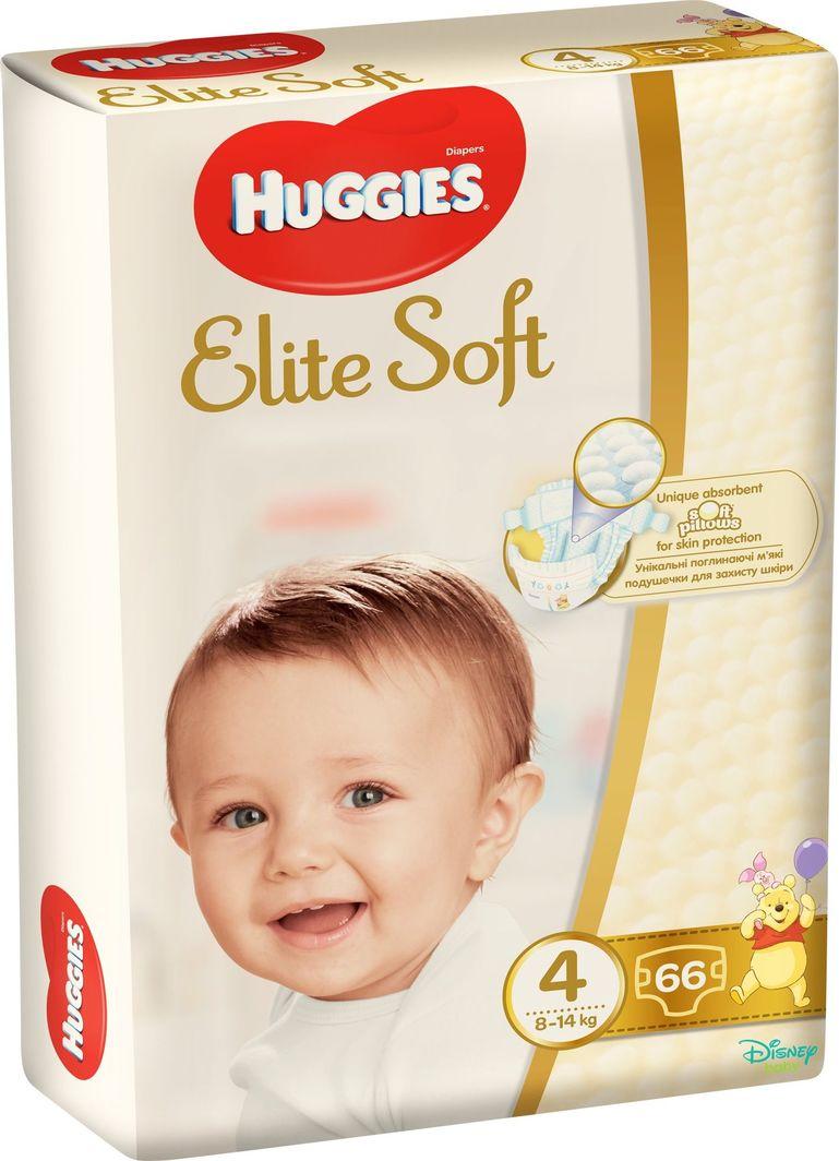Huggies Pieluszki Elite Soft r. 4 66szt. 1
