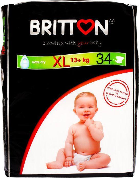 Britton Pieluchy XL (13+ kg) 34 szt. 1