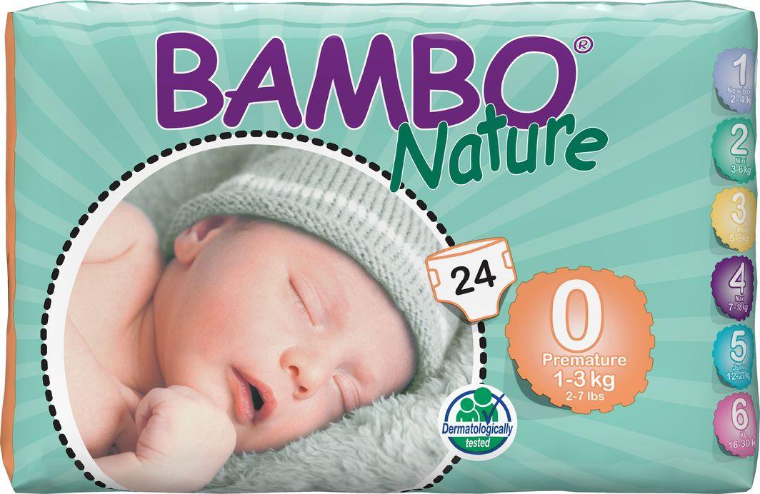 Bambo Pieluchy Premature 0 1-3 kg 24szt. 1