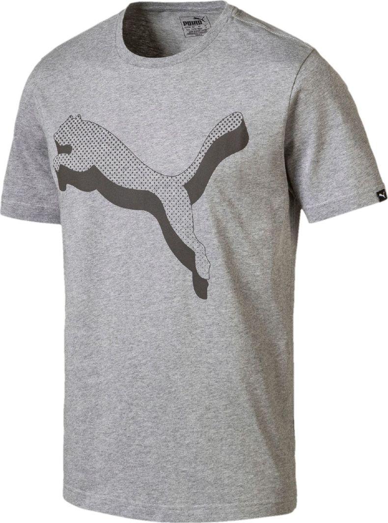Puma Koszulka męska Reflective Cat szara r. XL ID produktu: 5024961
