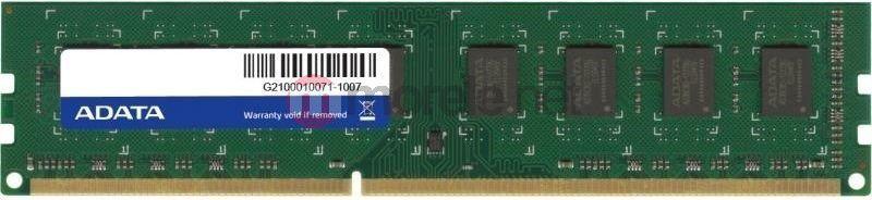 Pamięć ADATA Premier, DDR3, 8 GB, 1600MHz, CL11 (AD3U1600W8G11B) 1