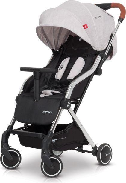 Wózek Euro-Cart spacerowy Spin Grey Fox 1