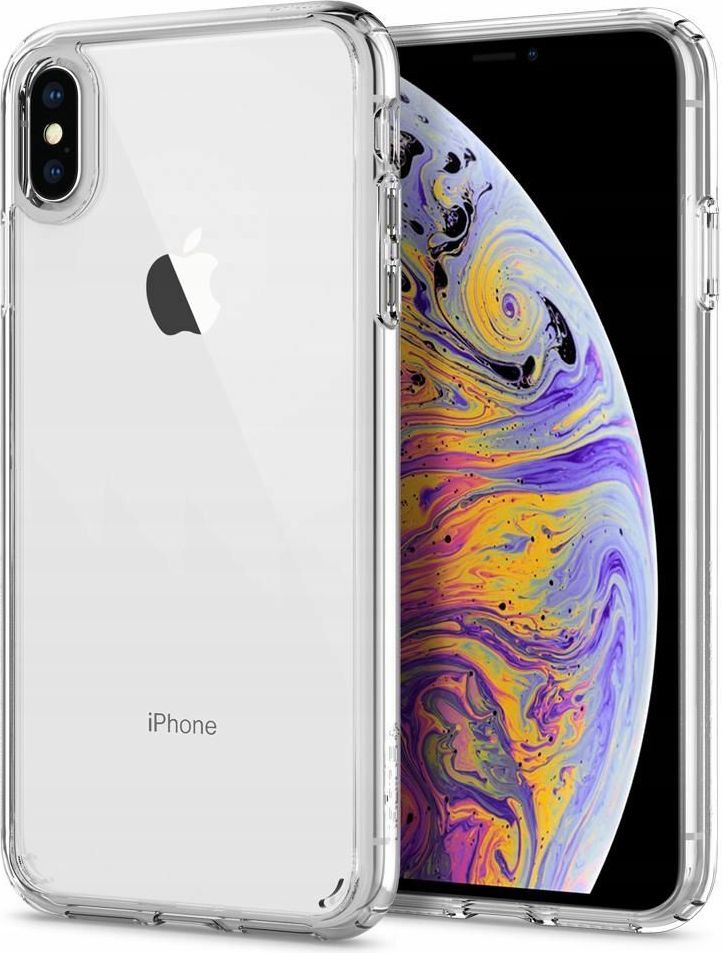 Spigen Nakładka Ultra Hybrid do Apple iPhone X/XS przezroczysta 1