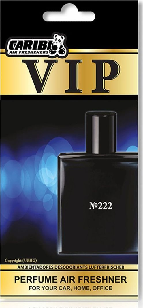 "Caribi LTD Automobilio oro gaiviklis VIP 222, pagal ""Bleu de Chanel"" kvapo motyvus 1"