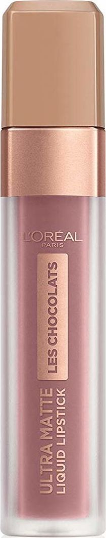 L'Oreal Paris Skysti lūpų dažai L'Oreal Paris Les Chocolats Ultra Matte 7.6 ml, 842 Candy Man 1