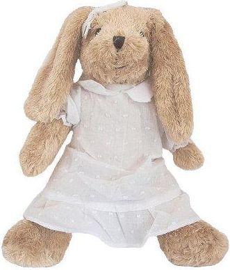Beppe Królik Rosalie w białej sukience, 35 cm (13245 BEPPE) 1