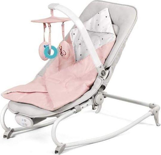 KinderKraft Leżaczek Felio Pink 1