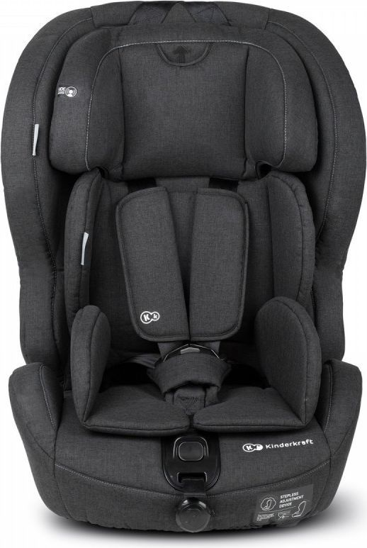 Fotelik samochodowy KinderKraft Safety-Fix black 1