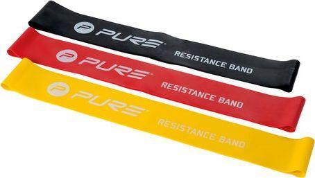 Pure Mini Band P2I200280 różne poziomy oporu w zestawie wielokolorowy 3 szt. 1