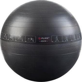 Pure Piłka do ćwiczeń 65cm czarna 1