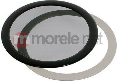 DEMCiflex 92mm Round black mesh 1