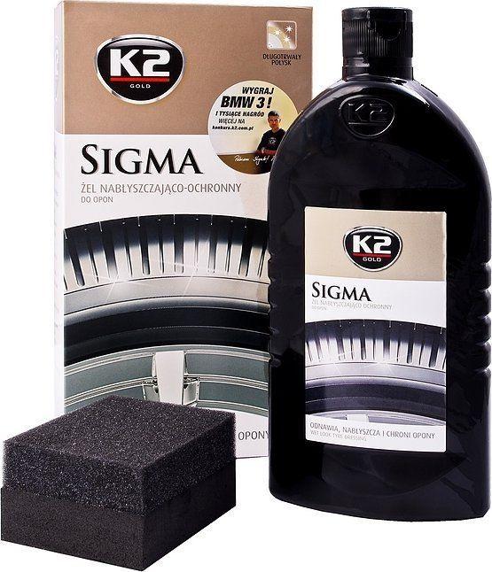 K2 Sport Padangų atnaujintojas K2 Sigma Gold, 500 ml 1