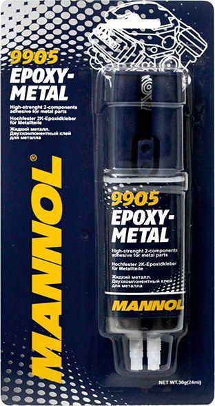 Mannol MANNOL Epoksidiniai klijai metalui 1