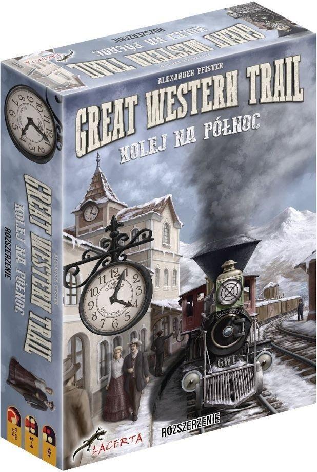 Lacerta Gra planszowa Great Western Trail: Kolej na Północ 1