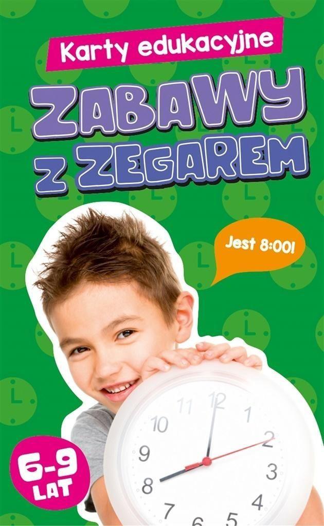 Edgard Karty edukacyjne. Zabawy z zegarem 1
