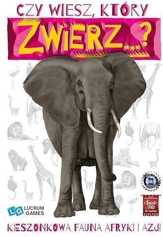 Lucrum Gra - Czy wiesz, który zwierz...? Afryka i Azja 1