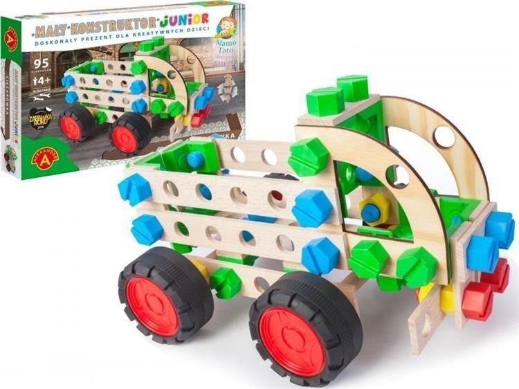 Alexander Mały konstruktor Junior 3w1 - Ciężarówka ALEX 1