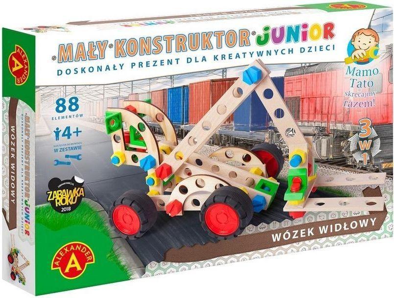 Alexander Mały konstruktor Junior 3w1 - Wózek Widłowy ALEX 1