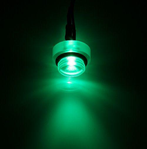 "BitsPower Crystal Lighting G1/4"", 3Pin zielony (BP-ACST-GN-3) 1"