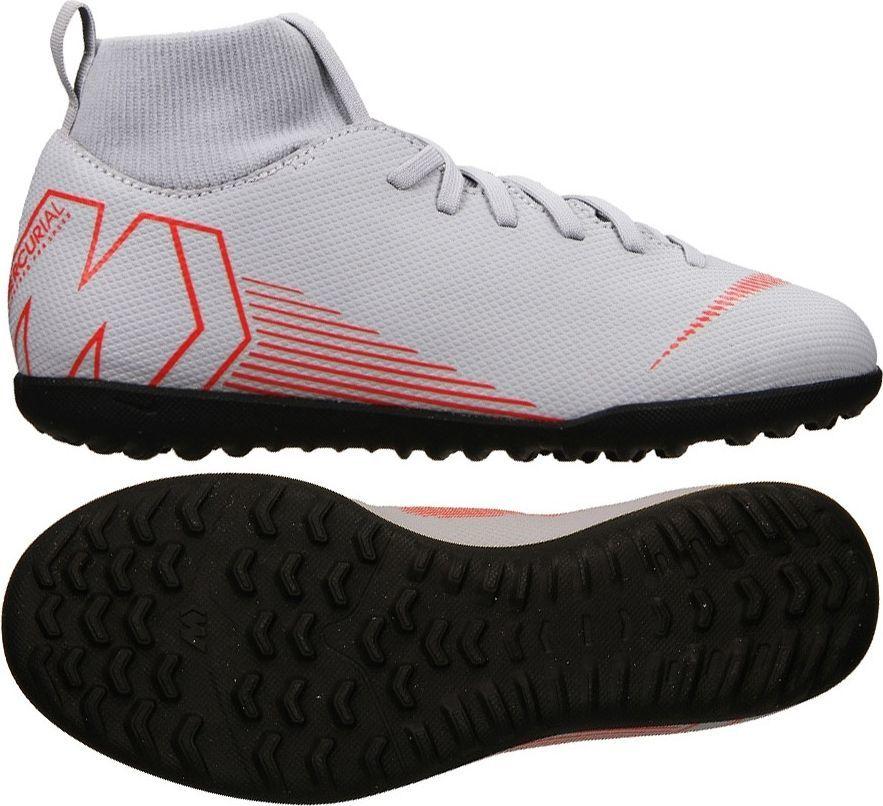 Nike Buty piłkarskie Mercurial JR SuperflyX 6 Club TF szare r. 34 (AH7345 060) ID produktu: 5036725