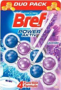 "BREF WC valiklis-gaiviklis ""BREF Power Aktiv Lavender"" 2x50g 1"