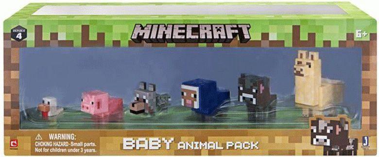 Tm Toys Minecraft - zestaw młodych zwierzątek domowych (301754) 1