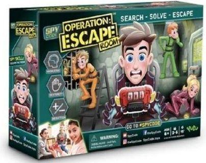 Tm Toys Gra planszowa Operacja: Escape Room Junior (109429) 1