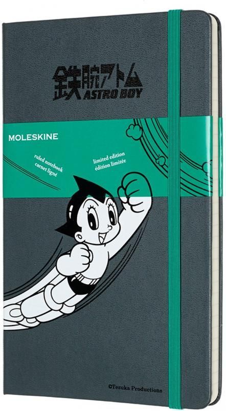 Moleskine Notes linia L Astro Boy 1
