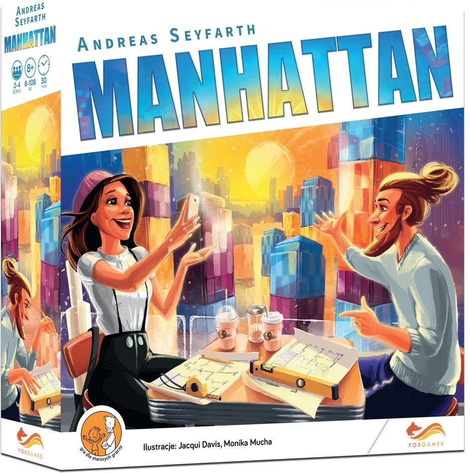 FoxGames Gra Manhattan 1