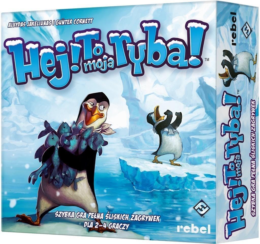 Rebel Gra planszowa Hej! To moja ryba! 1