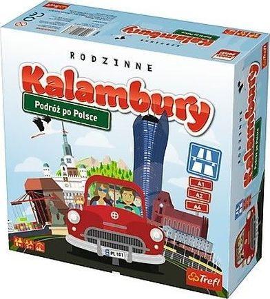 Trefl Kalambury. Podróż po Polsce 1