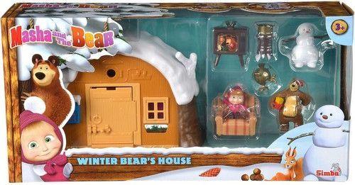 Simba Masza Zimowy Domek Niedźwiedzia Simba 1