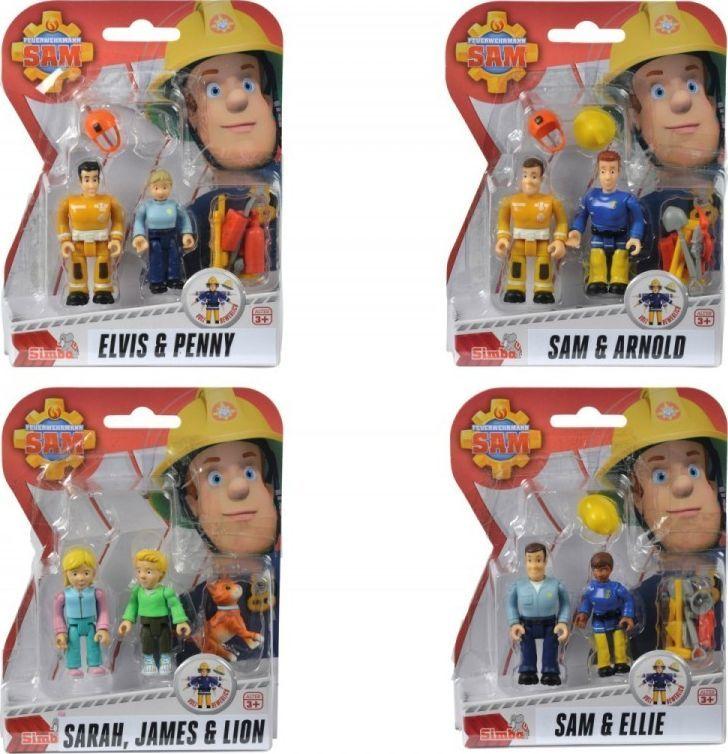 Simba Strażak Sam, 2 figurki II, 4 rodzaje 1