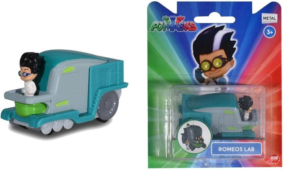 Dickie Pidżamersi. Pojazd z figurką Romeo (306255) 1