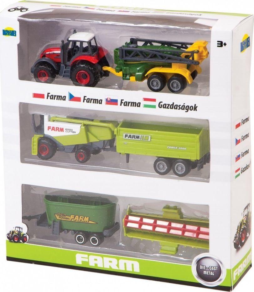 Dromader Zestaw maszyn rolniczych w pudełku 1