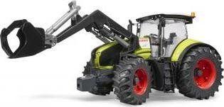 Bruder Traktor Claas Axion 950 z Ładowaczem Czołowym 1