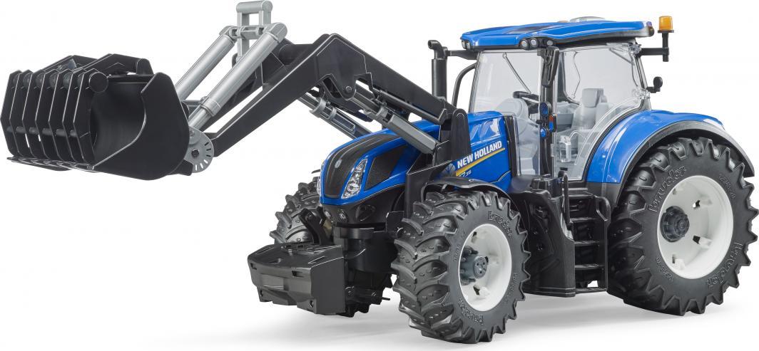 Bruder Traktor New Holland T7.315 z ładowaczem czołowym  (03121) 1