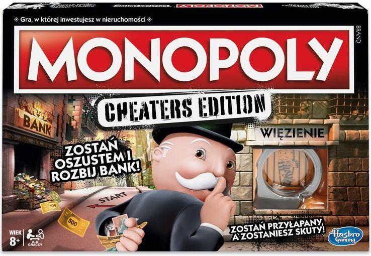 Hasbro Monopoly Cheaters edition (E1871) 1