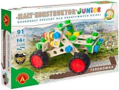 Alexander Mały Konstruktor Junior 3 w 1 Terenówka 1