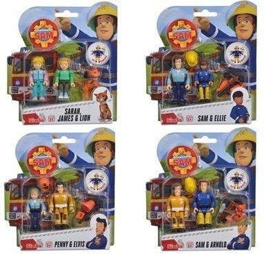Simba Strażak Sam - zestaw z 2 figurkami (301471) 1